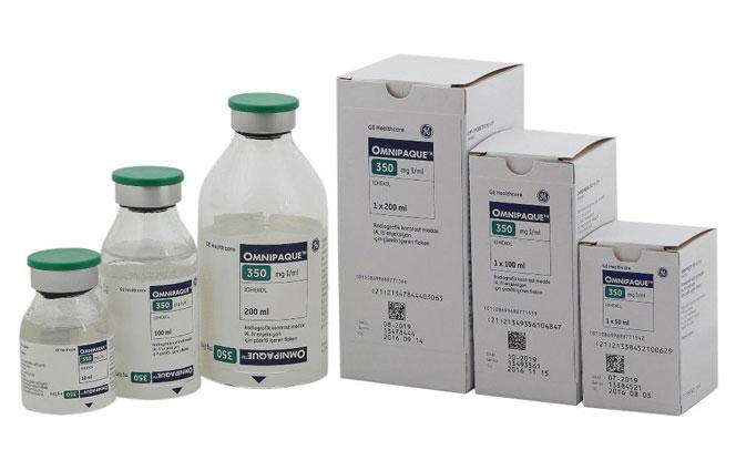 Контрастные вещества для томографии