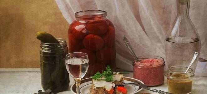 Как правильно пить, и чем закусывать водку, чтобы не болеть