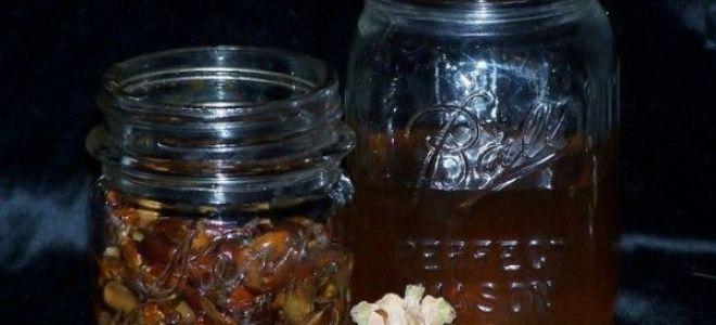 Делаем настойку на кедровых орешках