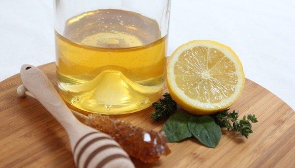 лимонный сок и мед