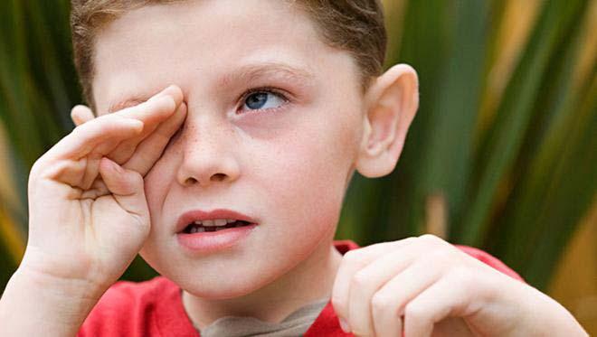 как лечить детский конъюнктивит