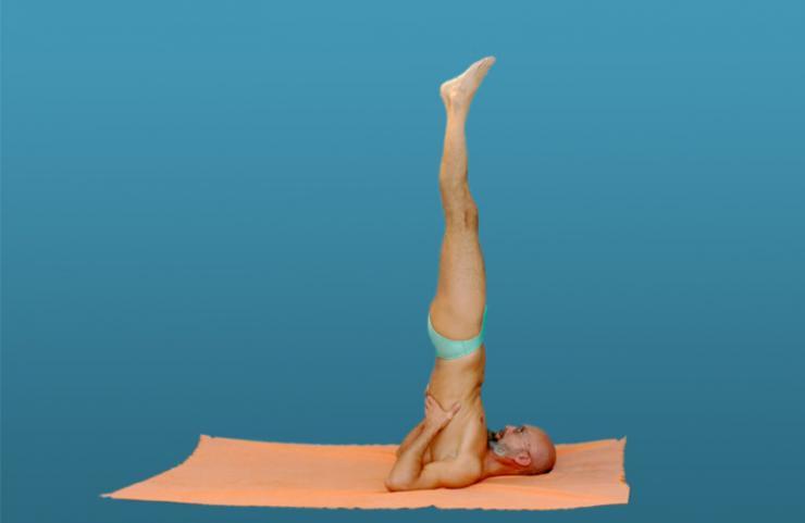 Использование йоги в борьбе с варикозом