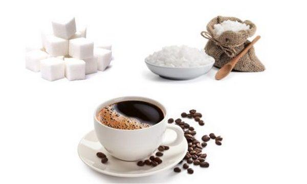 Сахар, соль, кофе
