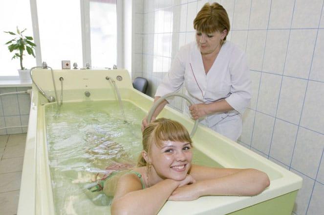 Лечение гинекологических заболеваний минеральными водами
