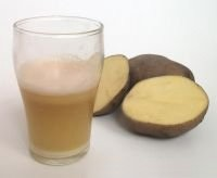 Kartofelnyj sok ot izzhogi