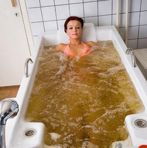 Ванна из горчицы