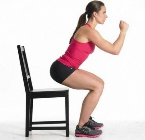 Упражнения для красивых колен