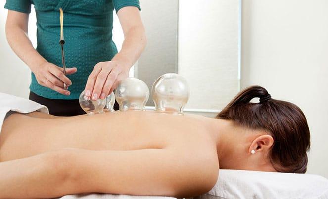 Баночный массаж при грыже позвоночника