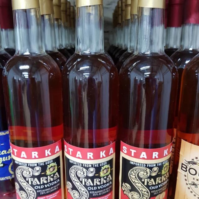 Происхождение, марки и цены на водку Старка. Приготовление в домашних условиях