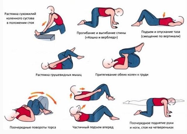 Лечебная физкультура для поясницы