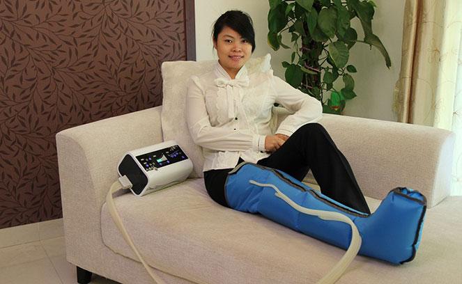 Компрессионный массажер для ног