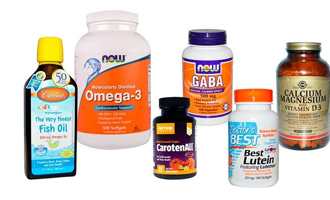 Разновидности витаминов для зрения