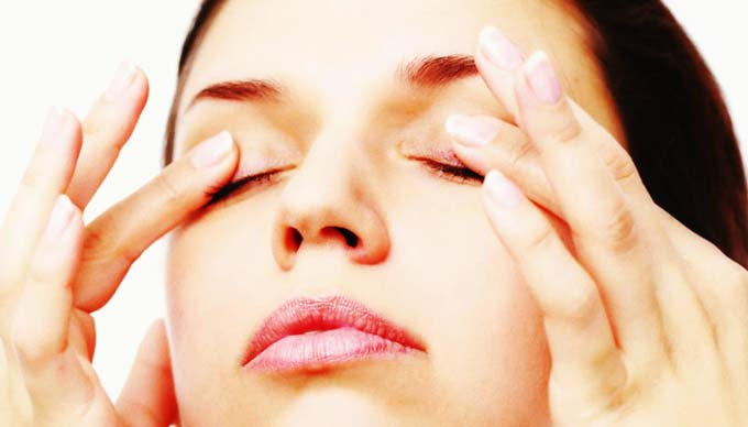 упражнение для аккомодации глаз