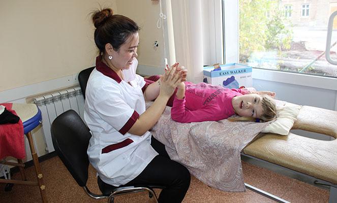 Лечебный массаж ребенка с ДЦП
