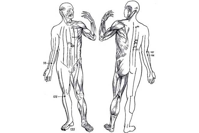 Точки для массажа хронического гастрита