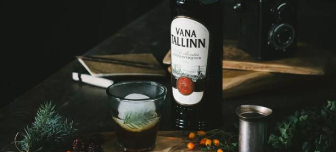 Цитрусовый ликер Вана Таллин (Vana Tallinn)