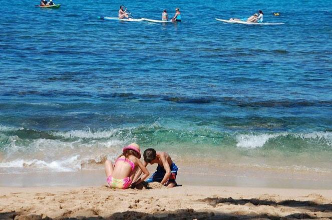 На море с детьми-инвалидами