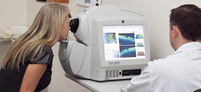 когерентная томография при глаукоме
