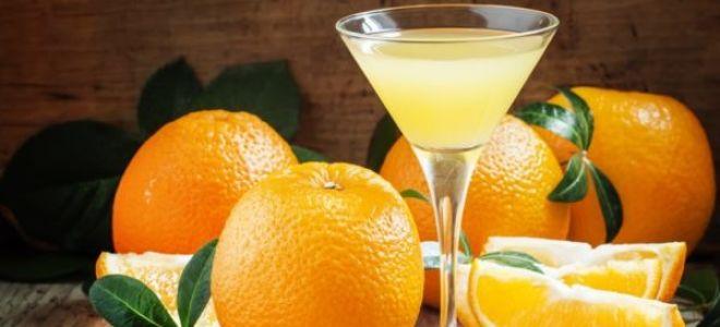 Как сделать апельсиновый ликер в домашних условиях