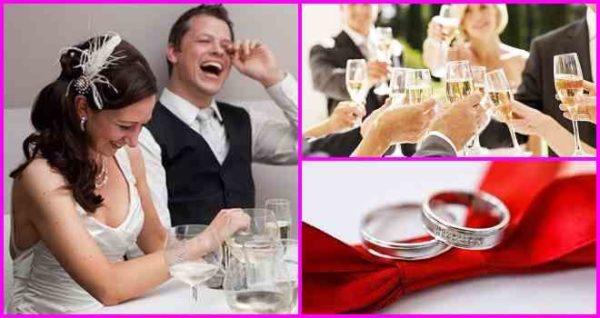 Лучшие тосты на свадьбу молодоженам