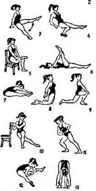 ЛФК для беременных при боли в тазобедренном суставе