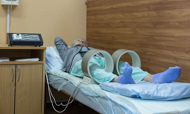 Физиотерапия после артроскопии колена