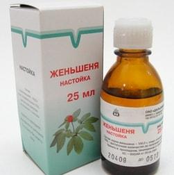 Nastoyka-zhenshenevaya
