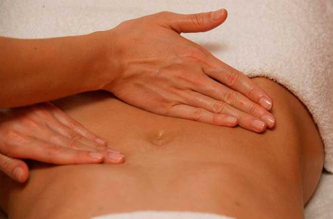 Техника массажа при хроническом гастрите