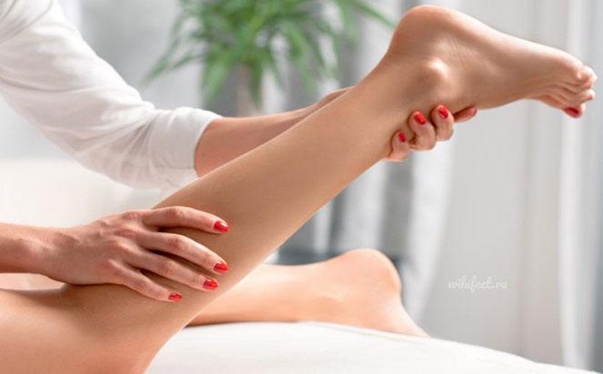 Техники массажа ног