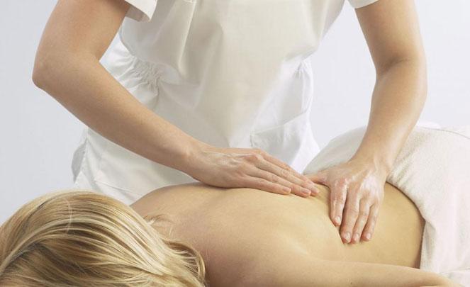 Процедура лечебного массажа