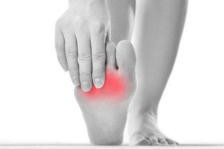 Боли в стопе при артрите