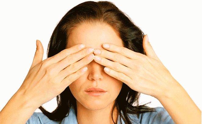 Пальминг по методике восстановления зрения по Бейтсу