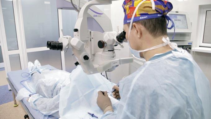 лечение гемофтальма