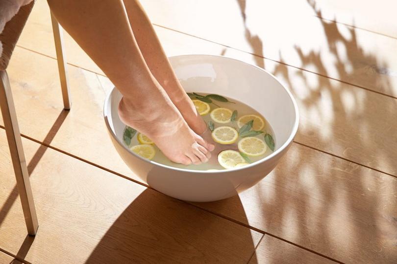 Рецепты ванночек от грибка ногтей на ногах