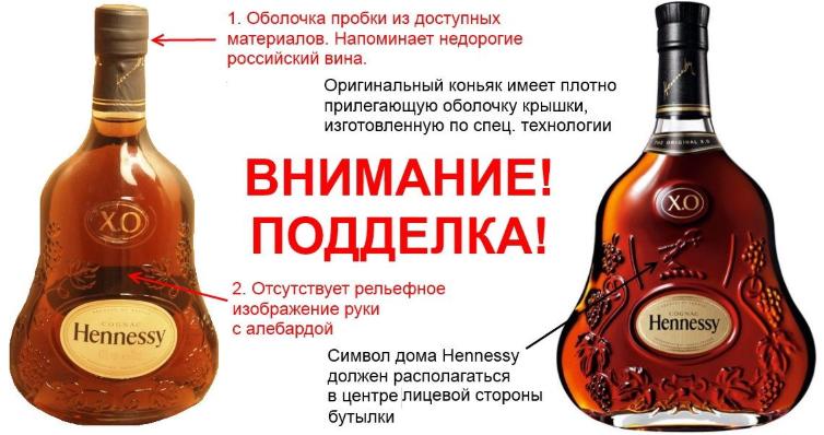 Как отличить коньяк от подделки отличительные особенности популярных марок