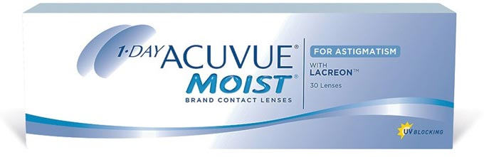 acuvue moist линзы от астигматизма