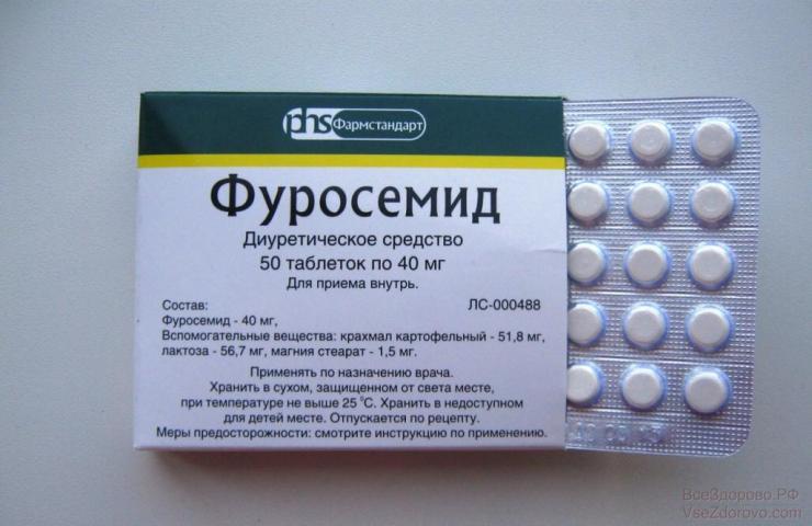 Выбор мочегонных препаратов при подагре
