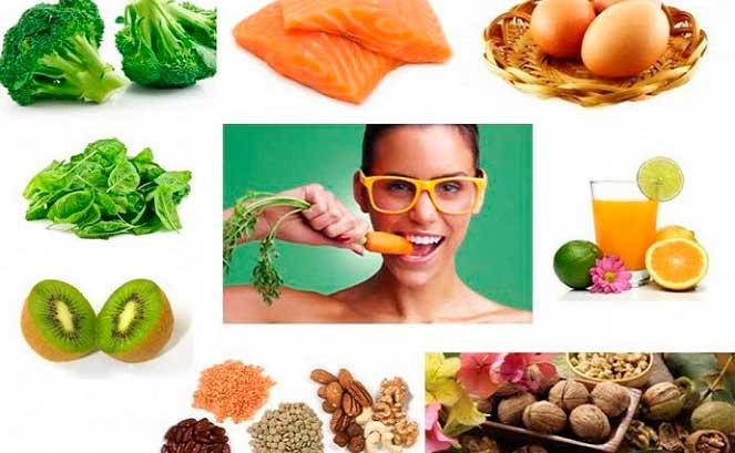 Полезные продукты для здоровья глаз