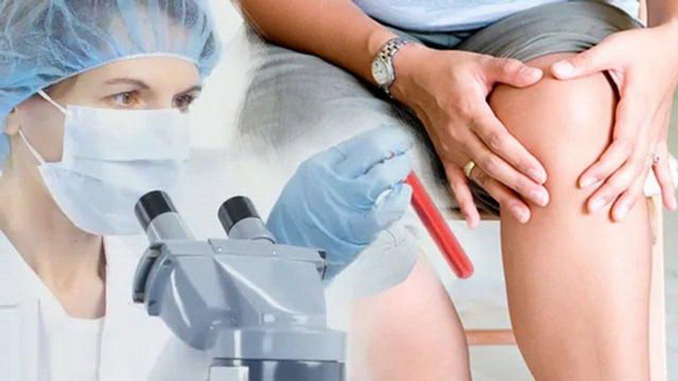 Плазмолифтинг при патологиях суставов