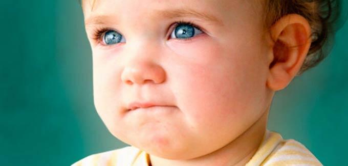 глаукома у ребенка