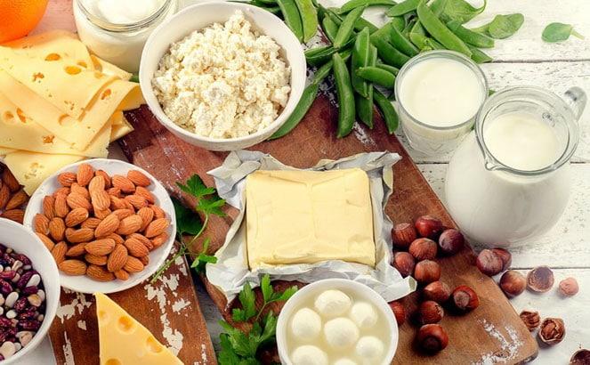 Продукты с кальцием для восстановления костей и хрящей
