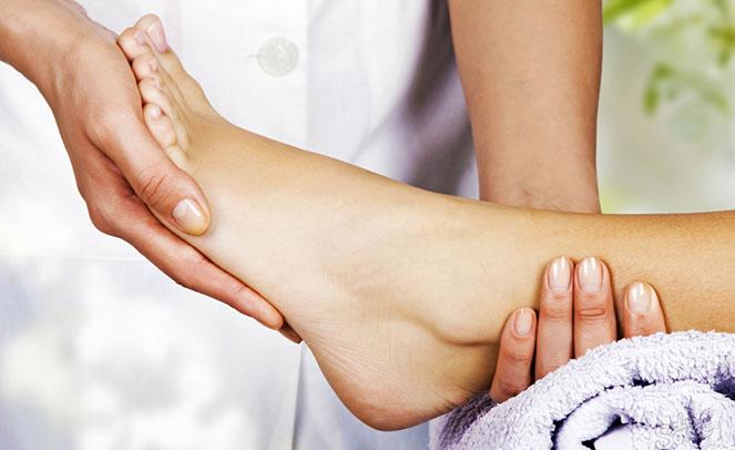 Массаж ног при диабете