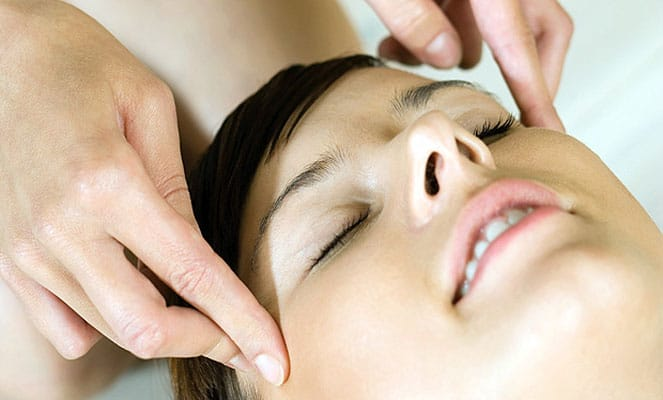 Точечный массаж от зубной боли