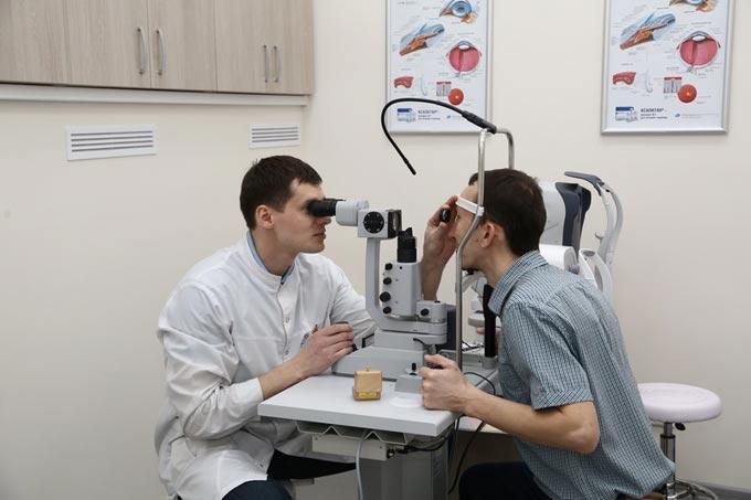 обратная офтальмоскопия