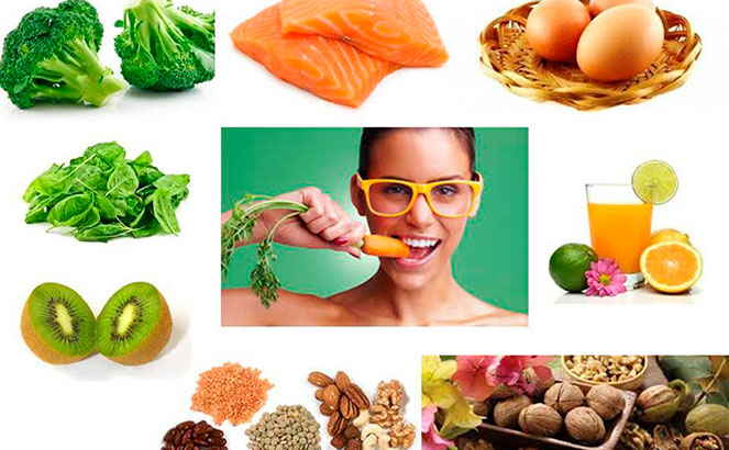 Полезные продукты для зрения