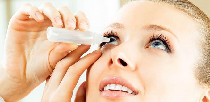 капли от синдрома сухого глаза