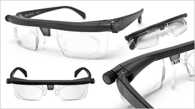 очки с регулировкой диоптрий