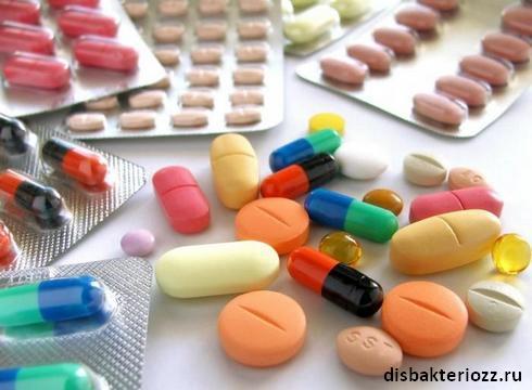 Tabletki-antibiotiki