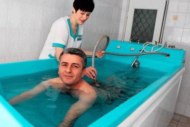 Лечение радоном в санатории