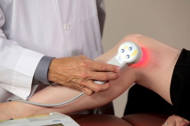 Физиотерапия для лечения заболевания
